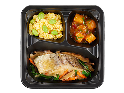 鱈(タラ)の和風彩り野菜あんかけ